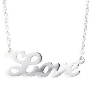 Argento Vivo Love Pendant Necklace